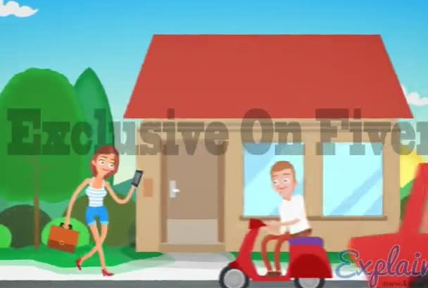 create This Explainer Video Commercial Animation