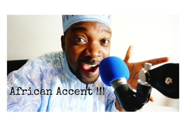 record your African accent voiceover within 24 hours