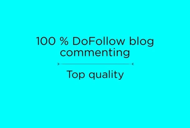 provide 7 dofollow blog comments with obl less than 20