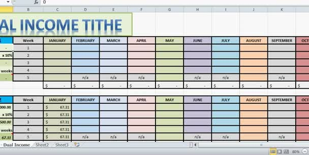 email you a tithing spreadsheet