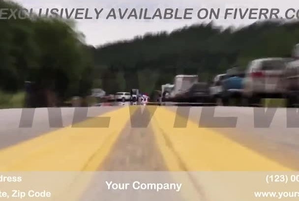 brand a video customized for Auto glass repair business