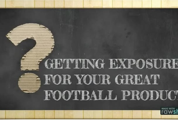 promote your product on my football soccer blog