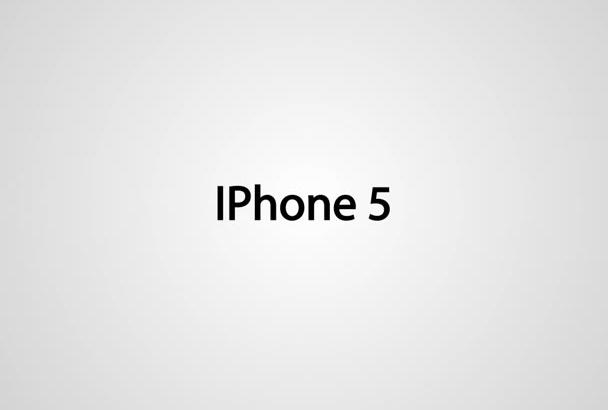 make IPHONE app promotion video