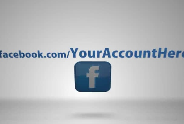 make this SOCIAL media video intro with facebook twitter youtube links or book