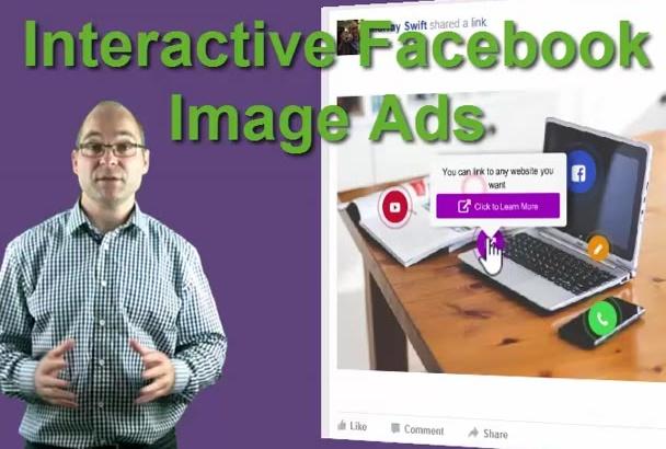 create an INTERACTIVE Facebook Image Ad