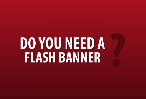 create a dynamic and interactive FLASH banner