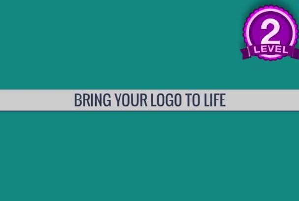 professional Business Class logo Animation
