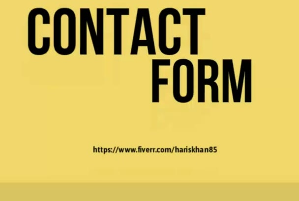 do the contact form