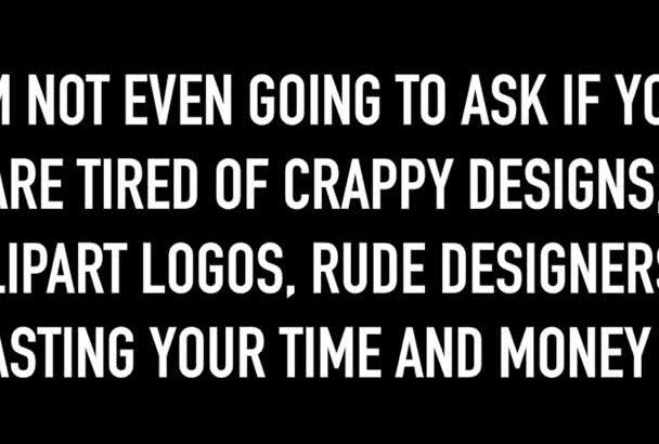 do a Professional and Creative Logo Design