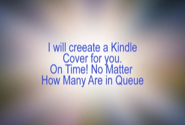 design a unique book cover for your kindle or hardcopy