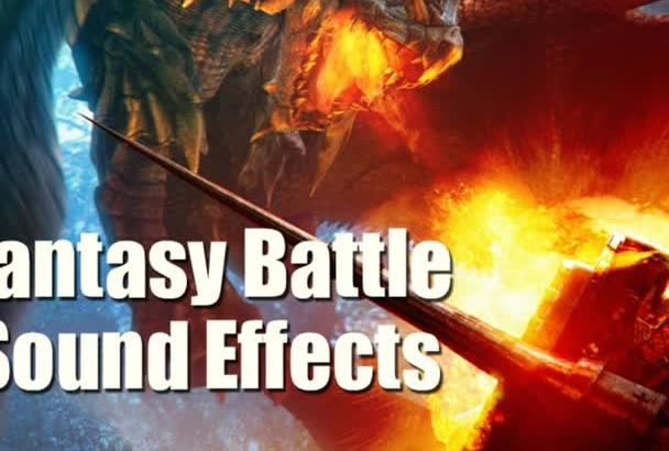 provide you with a pack of fantasy battle sound effects