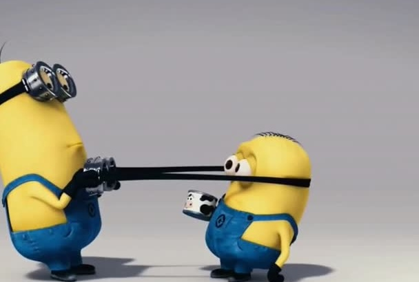 funny minion cow video to promote your company