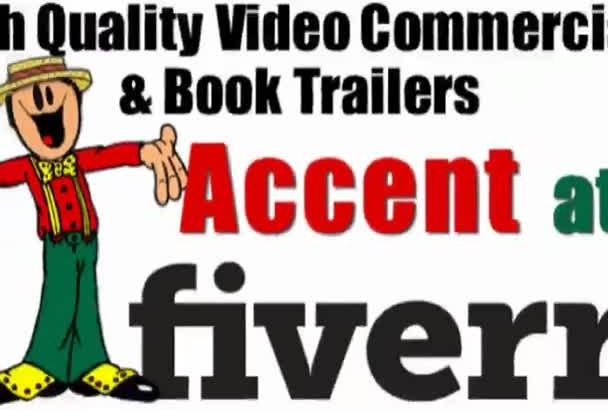 create a High Quality HD Video Commercial