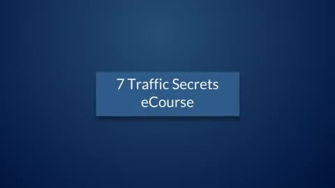 give you 7 Traffic Sources course by Sean Mize PLR