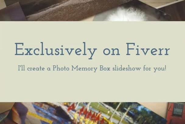 create a Photo Memory Slideshow Presentation