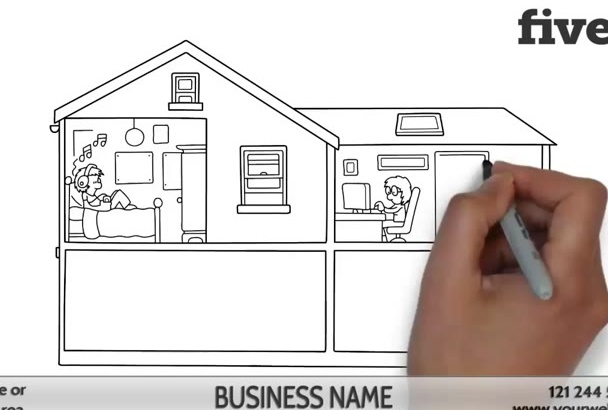 create an EFFECTIVE Real Estate Agent Whiteboard Video 4