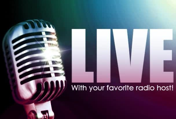 be the voice of your radio show