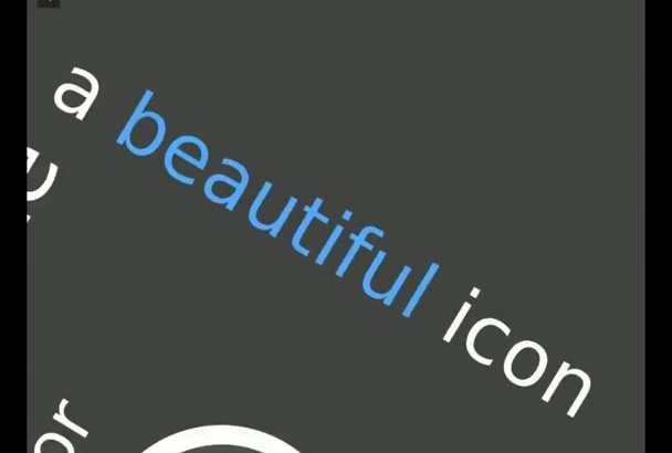 design a high quality android icon