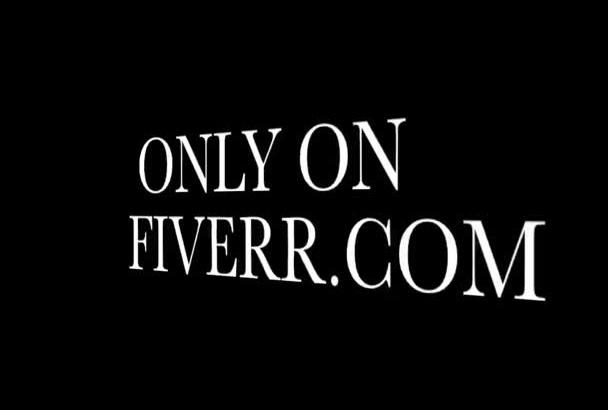 call as Christopher Walken for a Fiverr