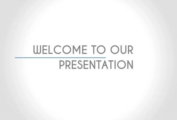 make ANIMATED  company profile video