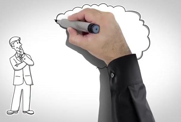 create Professional Whiteboard Explainer vide