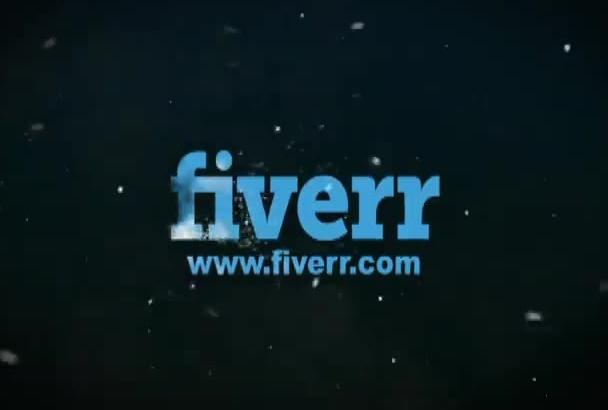 create a Full HD professional frozen logo reveal video