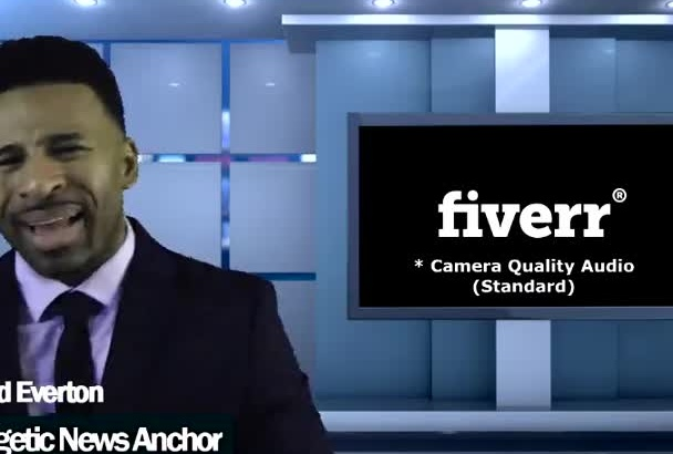 be your ENERGETIC News Anchor