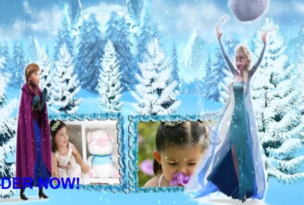 create this Frozen Video for You