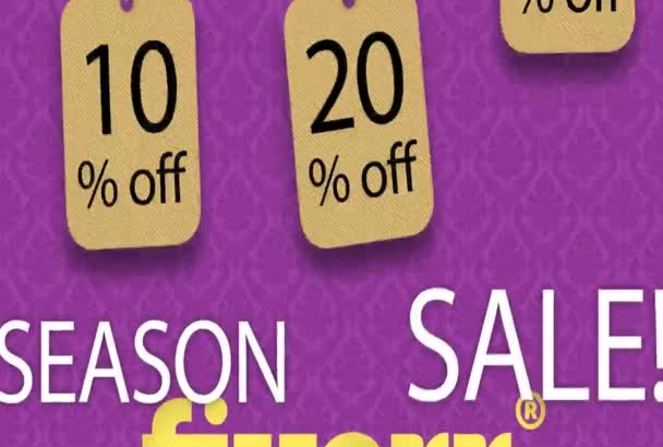 create your SEASONSALE video