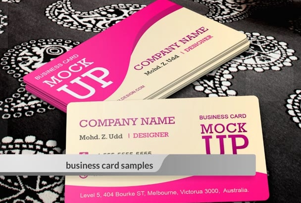 create TWO outstanding Business Card Under 6 hours