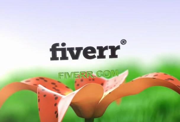 do Two 3D Cartoon Animation Logo Intros
