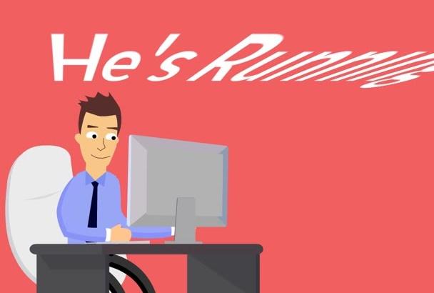 make a hand animation video