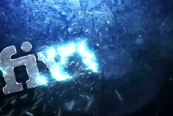 create for you an ice logo