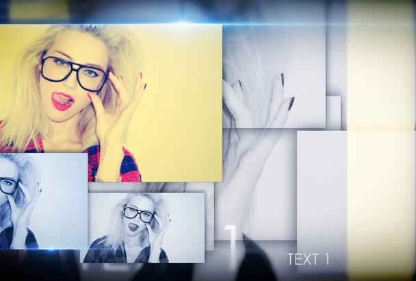 create model fashion video