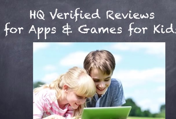 write a HQ Review for your App or Game
