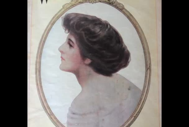 take pictures of vintage magazine pages for you
