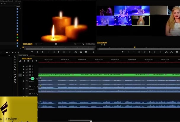 do professional video editing in full hd