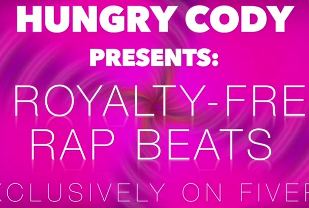 deliver you 5 original, royalty free beats in 24 hrs