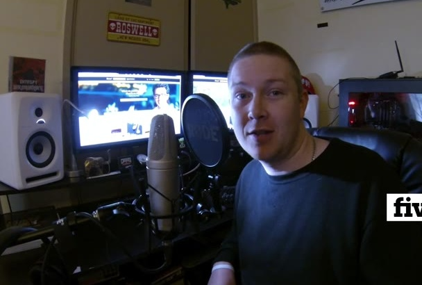 record a male voice over for your Phone IVR in under 24 hours