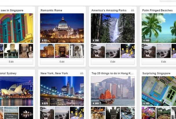 create an amazing Pinterest board for you with description