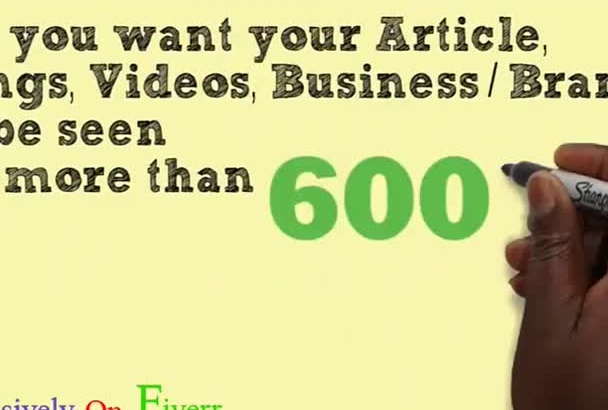 promote your Banner Ads, Videos,Etc To Over 600k Fans