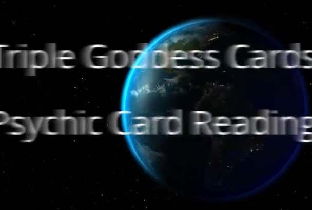 psychic Reading with the Sacred Goddess Cards