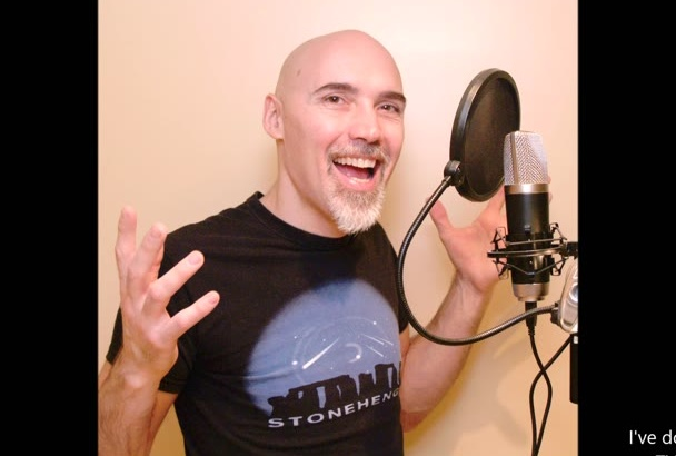 record a unique voice over for your awesome project