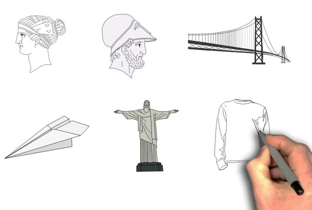 illustrate any image to pencil sketch