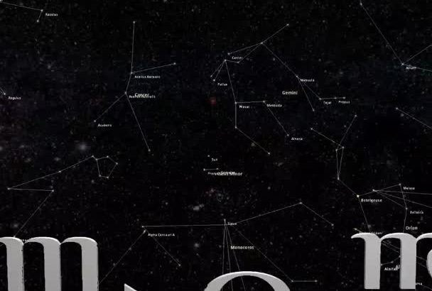give you the 12 signs of the Zodiac in 3D