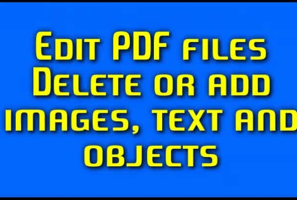 edit PDF or create a fillable pdf form