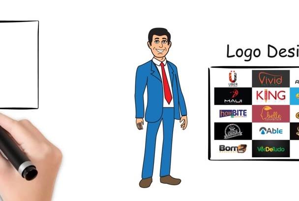 do Custom Animation , whiteboard , explainer , infographics