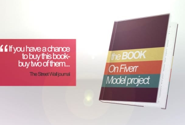 create Professional and Creative Book PROMO Video