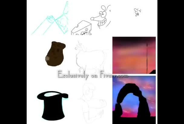 draw a custom cartoon or illustration