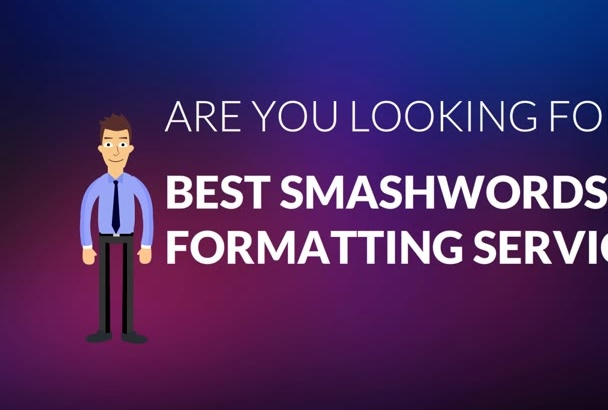 do smashwords formatting to pass autovetter in 24 hour